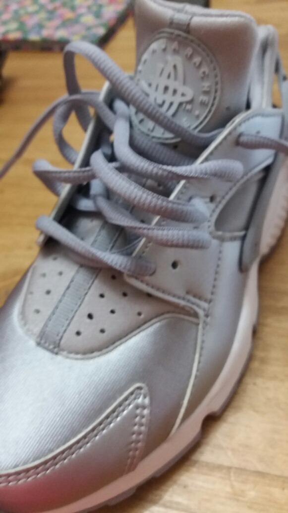 huge discount f2b93 16608 zapatillas nike air huarache run grey premium womens- plata ...