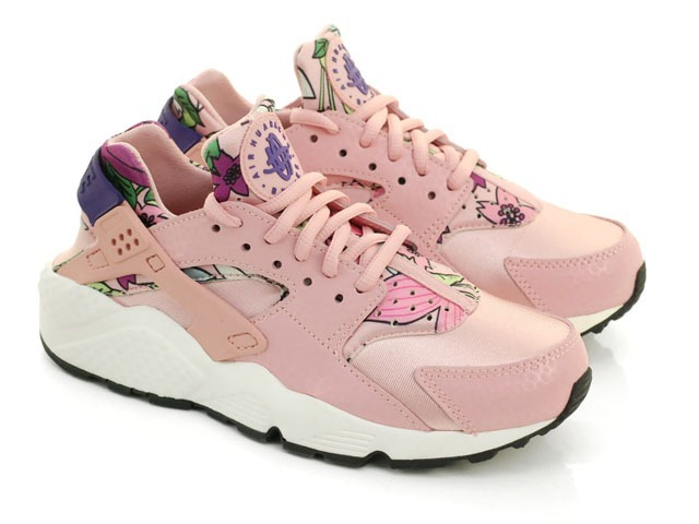 timeless design fc505 be429 Zapatillas Nike Air Huarache Run Rosa Floral Original 2017