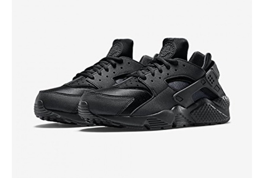 Zapatillas Nike Air Huarache Run Triple Negro Nuevo Original