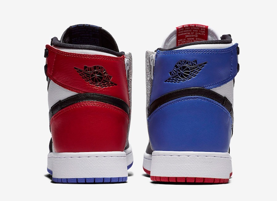 292619e73acb ... coupon zapatillas nike air jordan 1 high rebel top 3 azul rojo. cargando  zoom.