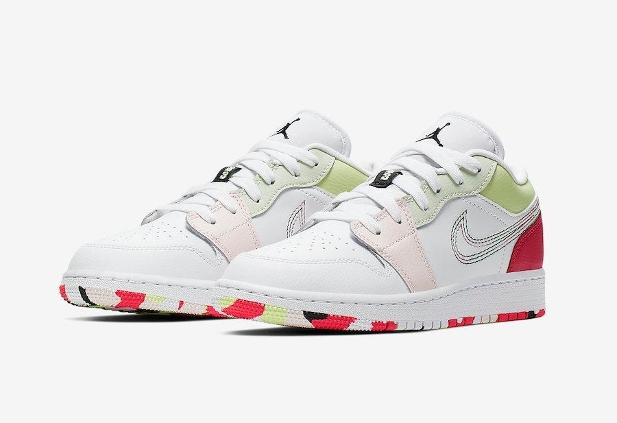 Zapatillas Nike Air Jordan 1 Low Ember Glow // Nuevo 2019
