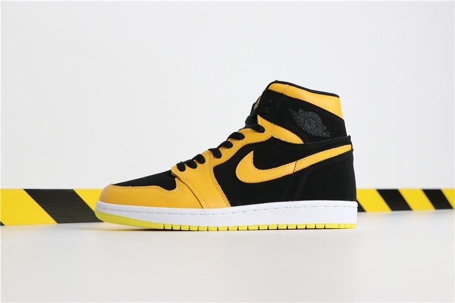 d7b2fbe0e35e3 zapatillas nike air jordan 1 mid black - yellow 36-45. Cargando zoom.