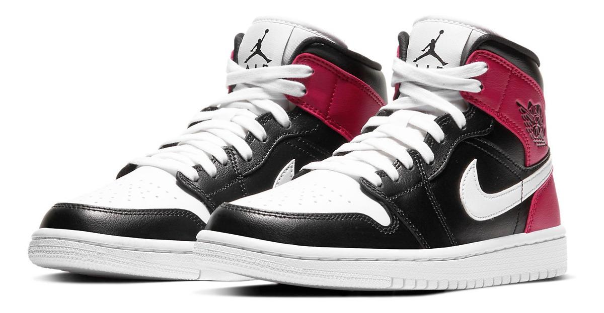 Zapatillas Nike Air Jordan 1 Mid Mujer Basketball Originales