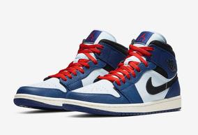 Royal Air 1 Se Zapatillas Jordan Nike Deep Blueblack Mid N8nwPZ0OkX