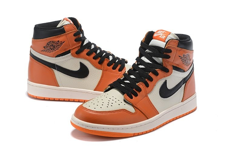 air jordan 1 naranja