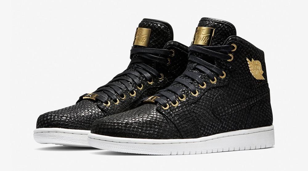 Air Jordan 1 negro