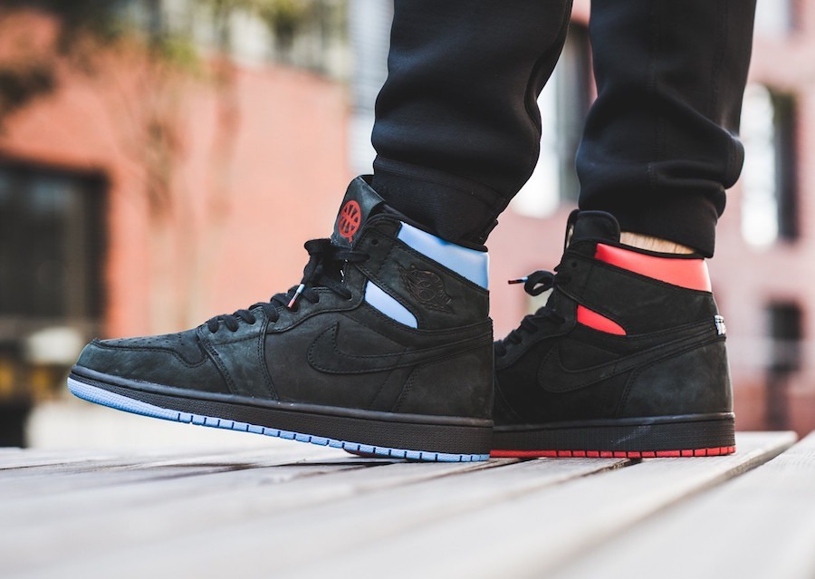 Og Rojo Air Jordan Nike Azul Negro Zapatillas Retro 1 High
