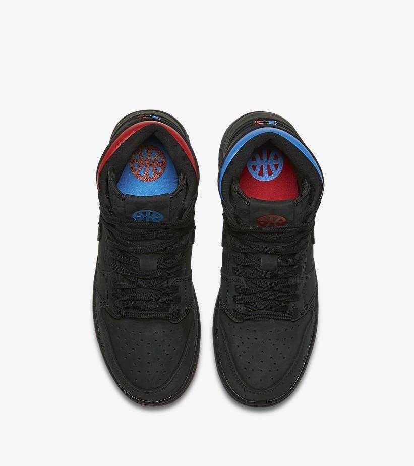 Zapatillas Nike Air Jordan 1 Retro High Og Negro Azul Rojo