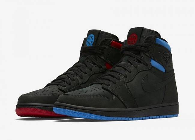 25c267868ae Zapatillas Nike Air Jordan 1 Retro High Og Negro Azul Rojo - S  499 ...