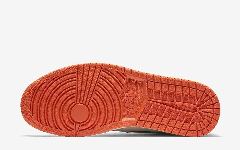 2a2ec5326fc zapatillas nike air jordan 1 retro high og shattered naranja. Cargando zoom.