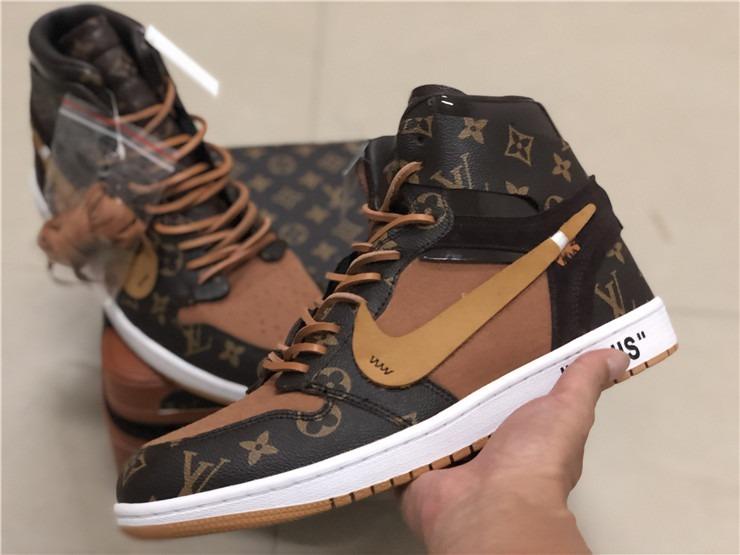mejor proveedor auténtico diseño de calidad Zapatillas Nike Air Jordan 1 X Louis Vuitton
