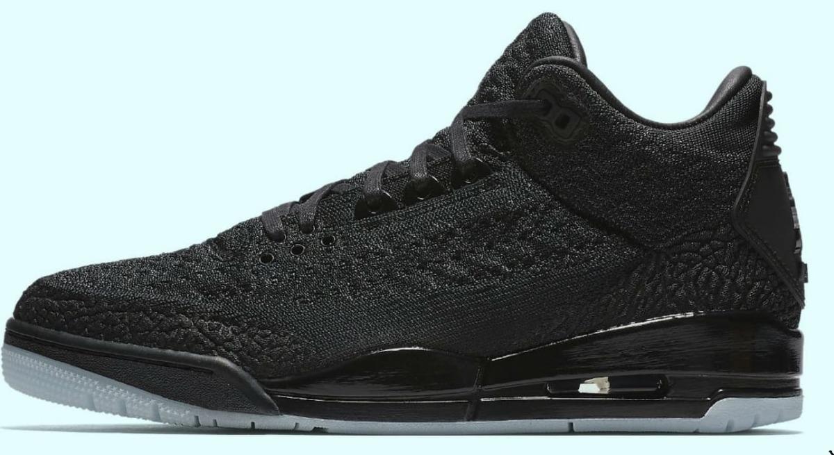 Zapatillas Nike Air Jordan 3 Flyknit Black 40 47 Nuevo