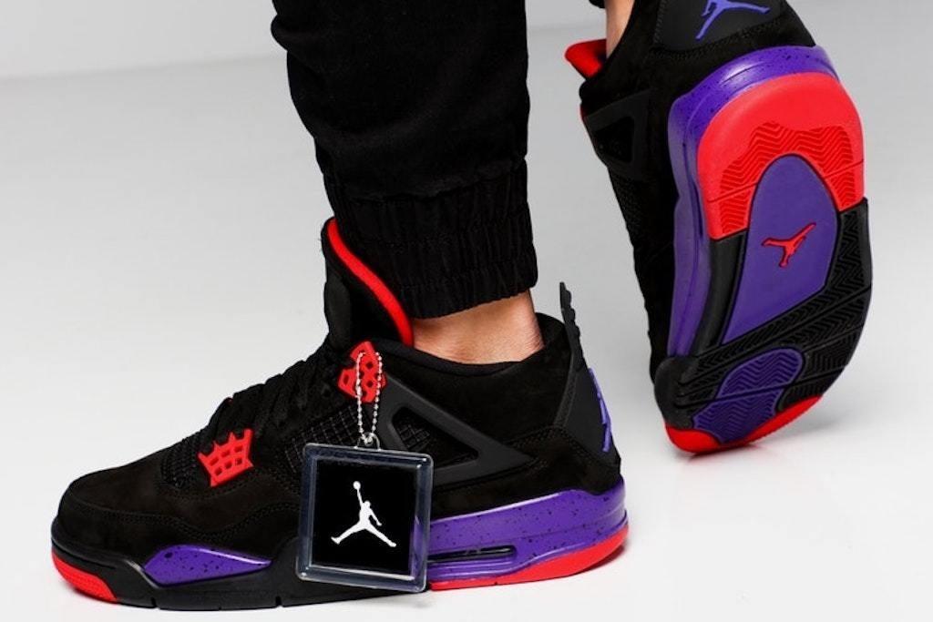 separation shoes d48ec 5b9ff Zapatillas Nike Air Jordan 4 Raptors