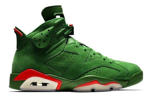 zapatillas nike air jordan 6 retro  gatorade green