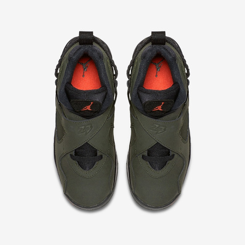 zapatillas nike air jordan 8 retro take flight verde