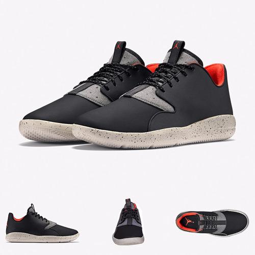 zapatillas nike air jordan  eclipse black cement original