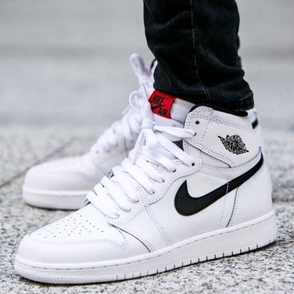 726f7cae6ca Zapatillas Nike Air Jordan Retro 1 High Og White - S  711