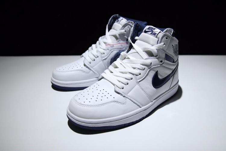 30c5bf7159ed7 Zapatillas Nike Air Jordan Retro 1 High Og White - S  711