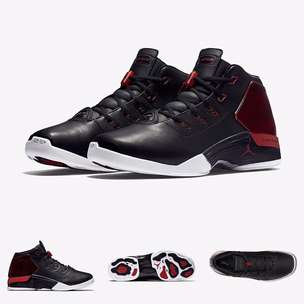 314e44a9fb4 zapatillas nike air jordan retro 17 bulls original negro. Cargando zoom.