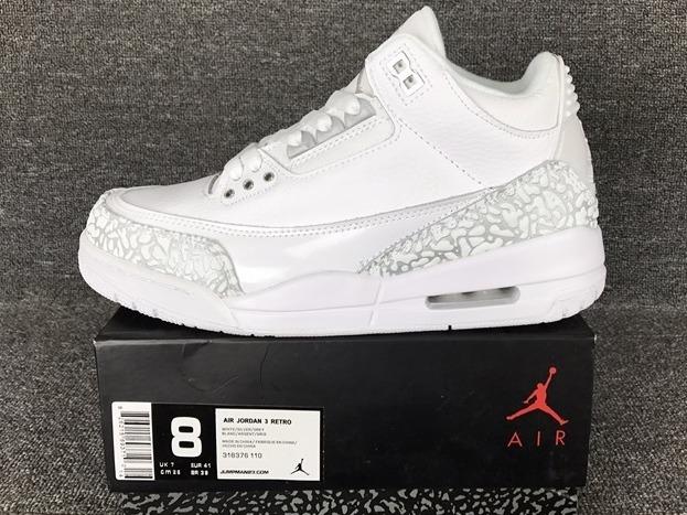 53d7e90ef Zapatillas Nike Air Jordan Retro 3 White