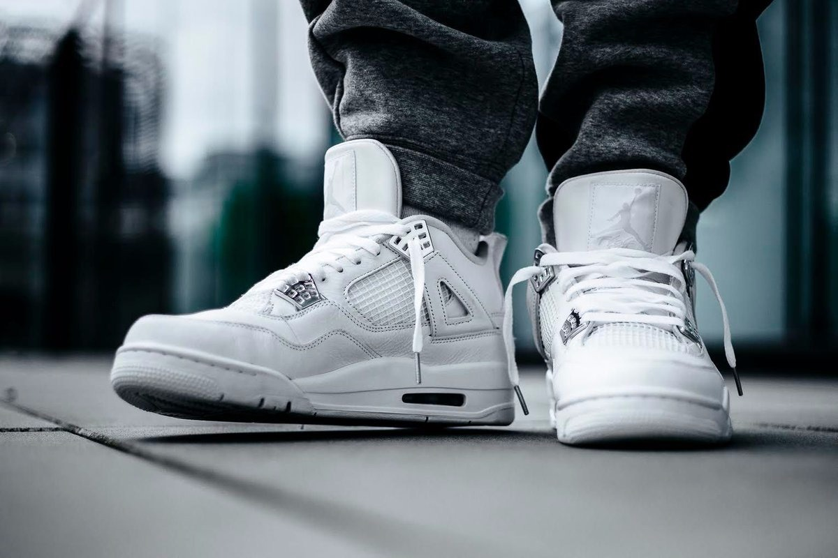 nike jordan retro 4 pure money