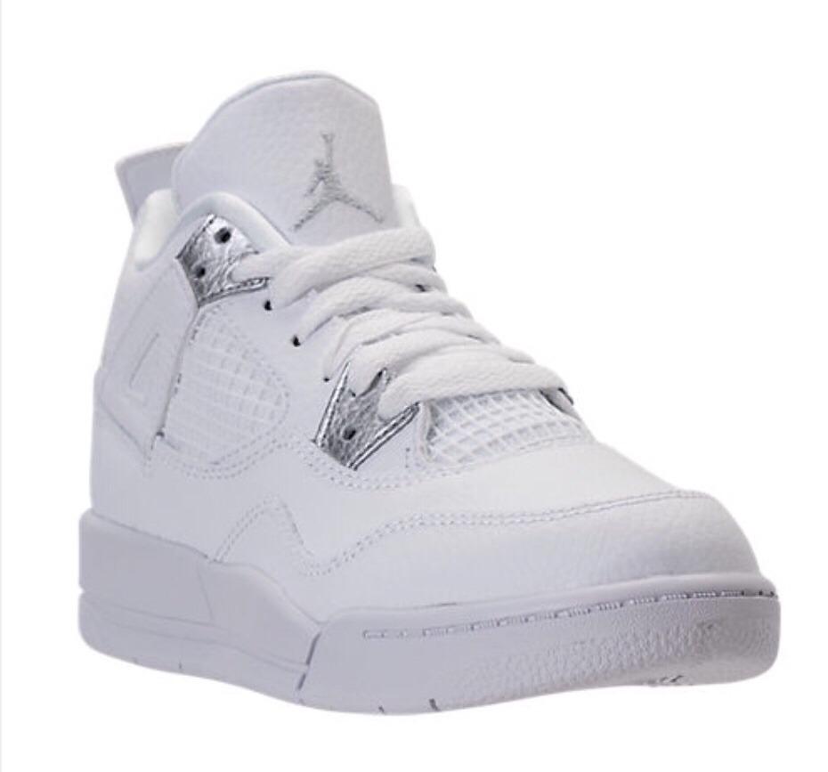 896c6dbe zapatillas nike air jordan retro 4 pure money niño talle23.5 ...