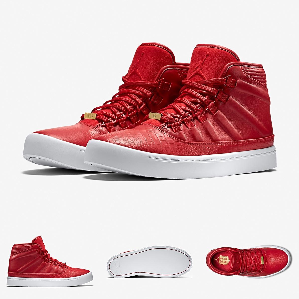 new product 4b4e0 773b0 zapatillas nike air jordan westbrook 0 red botines original. Cargando zoom.
