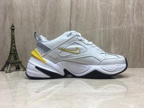 Zapatillas Nike Air M2k Tekno 3645 Blancoamarillo Unisex
