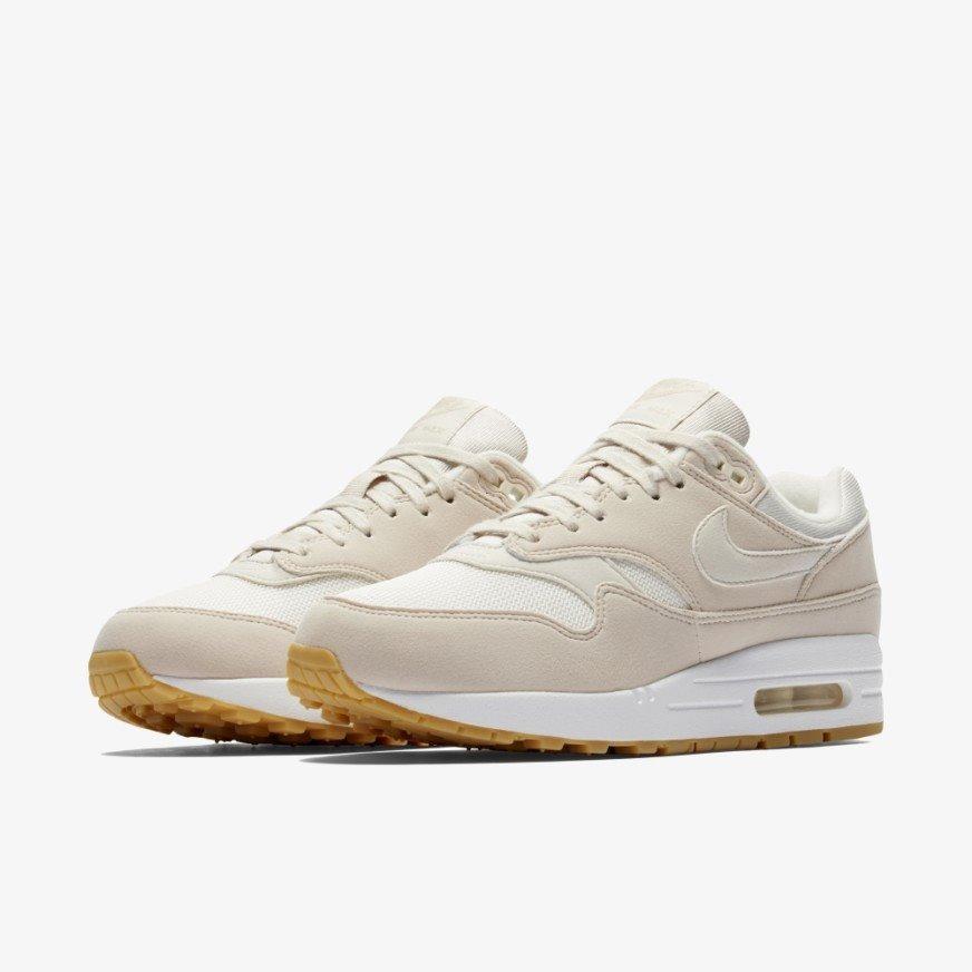 Zapatillas Nike Air Max 1 Blanca Y Crema Dama