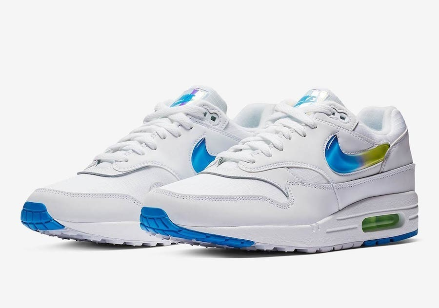 Zapatillas Nike Air Max 1 Blanco Jewell Colorway New 2019