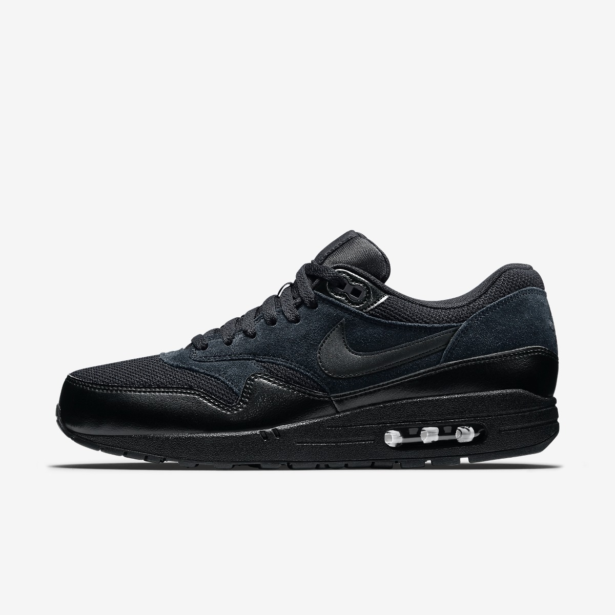 Zapatillas nike air max 1 essential | negro 2016 original en