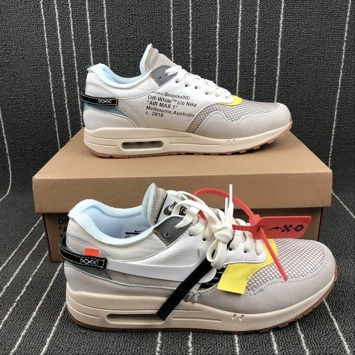 Zapatillas Nike Air Max 1 Off white X Off white 00 40 45 S 550 00 white 0a48b5