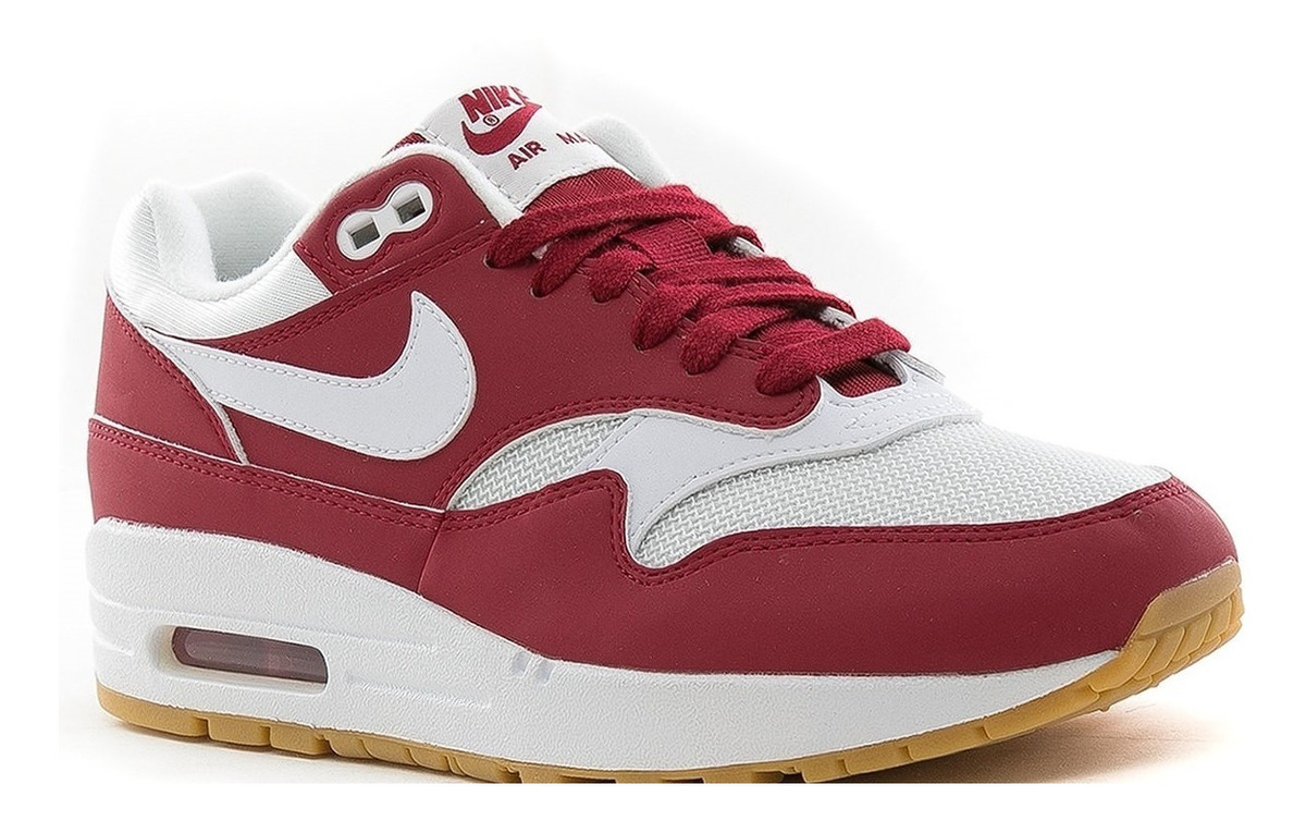 Zapatillas Nike Air Max 1 Red Crush White Mujer
