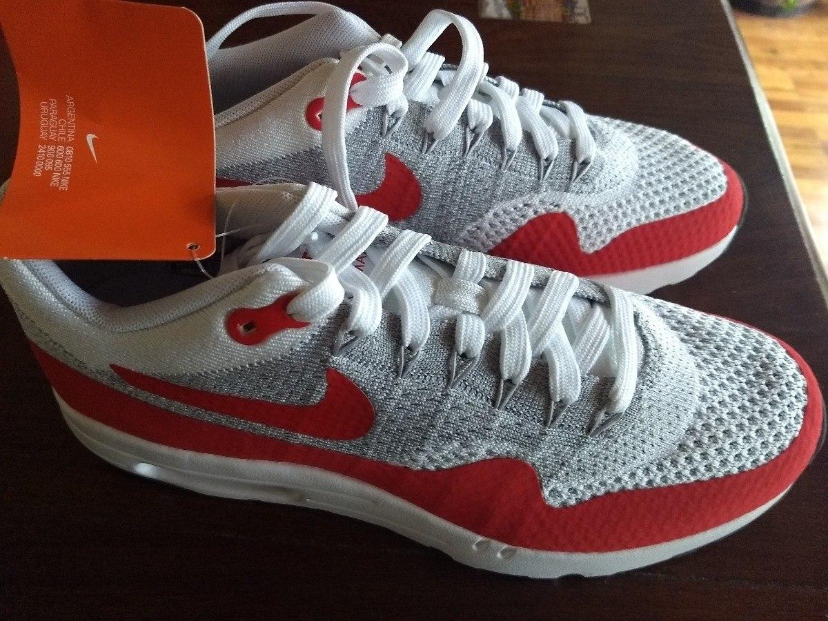 Zapatillas Outdoor Hombre Nike Air Max 1 Ultra Flyknit Rojas