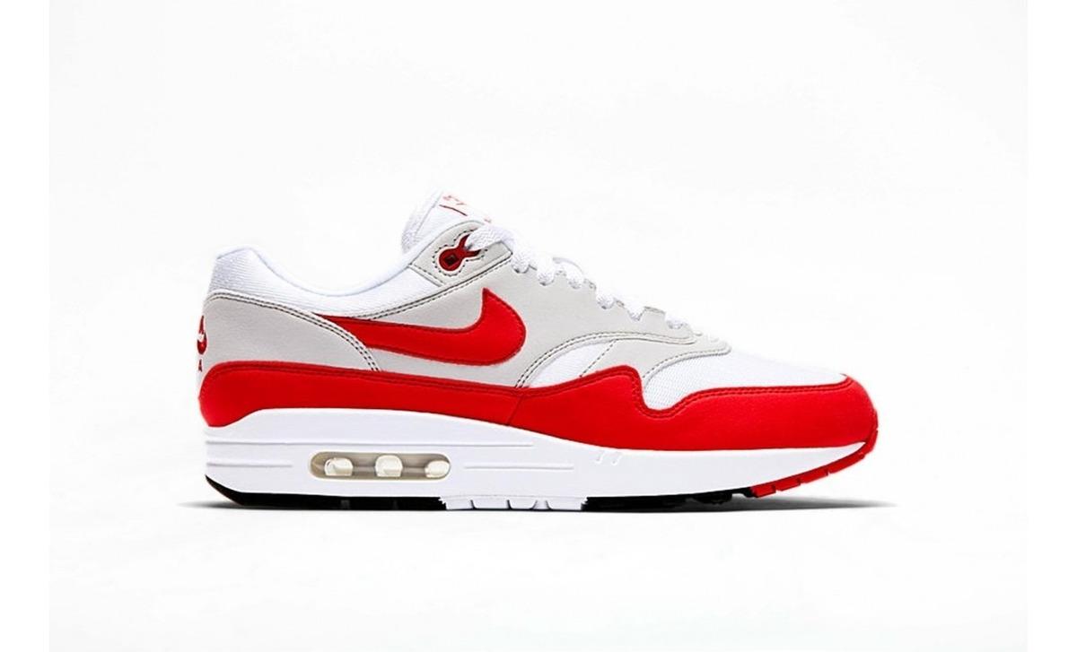 Zapatillas Nike Air Max 1 University Red Rojo Nuevo 2018