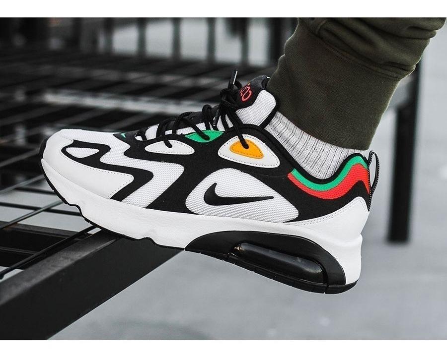 Zapatillas Nike Air Max 200 Originales Para Hombre - Oferta