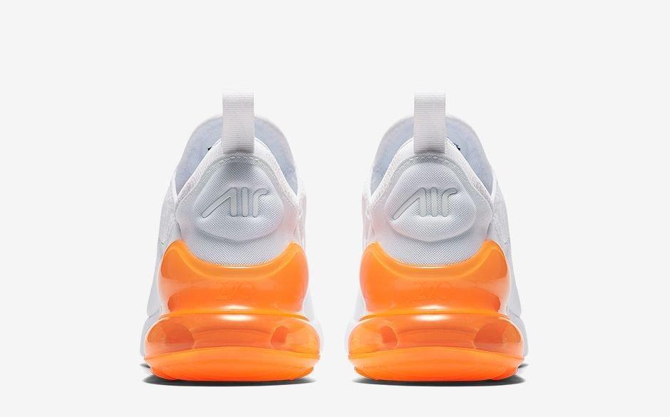 b7b98a35db33f ... sweden zapatillas nike air max 270 blanco naranja originales. cargando  zoom. 2decd 060b5