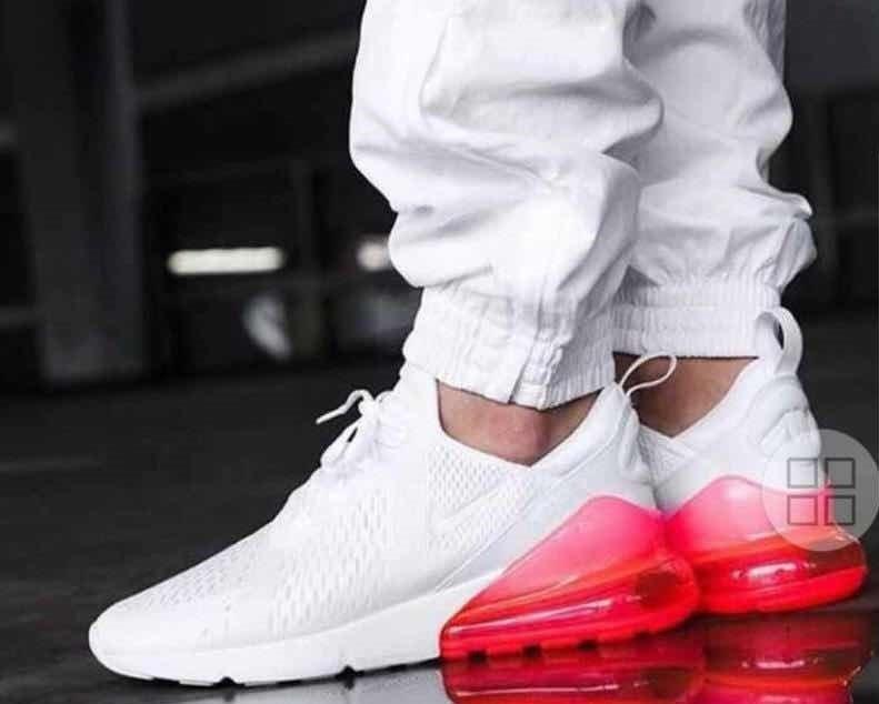 Barcelona unos pocos varilla  air max 270 blanco con rojo cheap nike shoes online