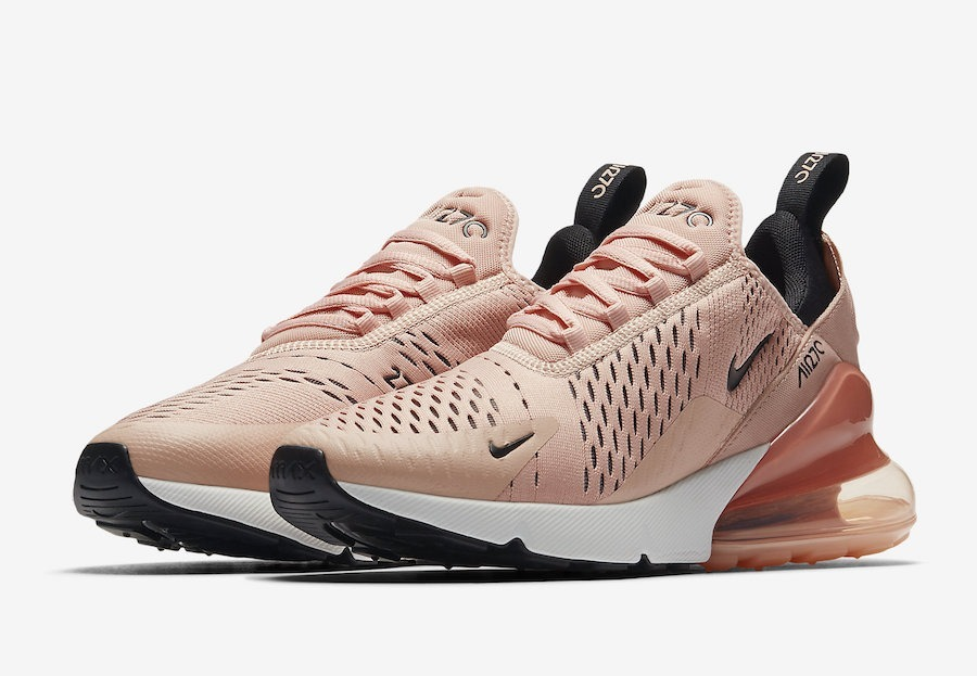 e766b25149408 ... official zapatillas nike air max 270 coral stardust rosa mujer 2018. cargando  zoom. 63fce