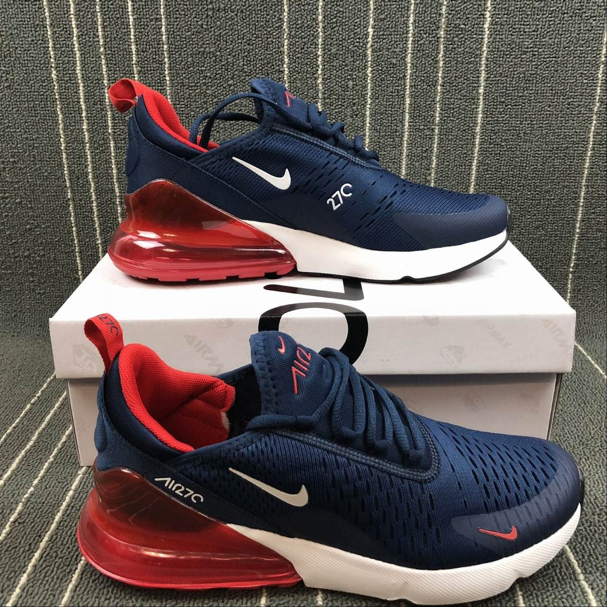 best website cfbf0 a8830 Zapatillas Nike Air Max 270 Navy-red 36-39 - Exclusive Line