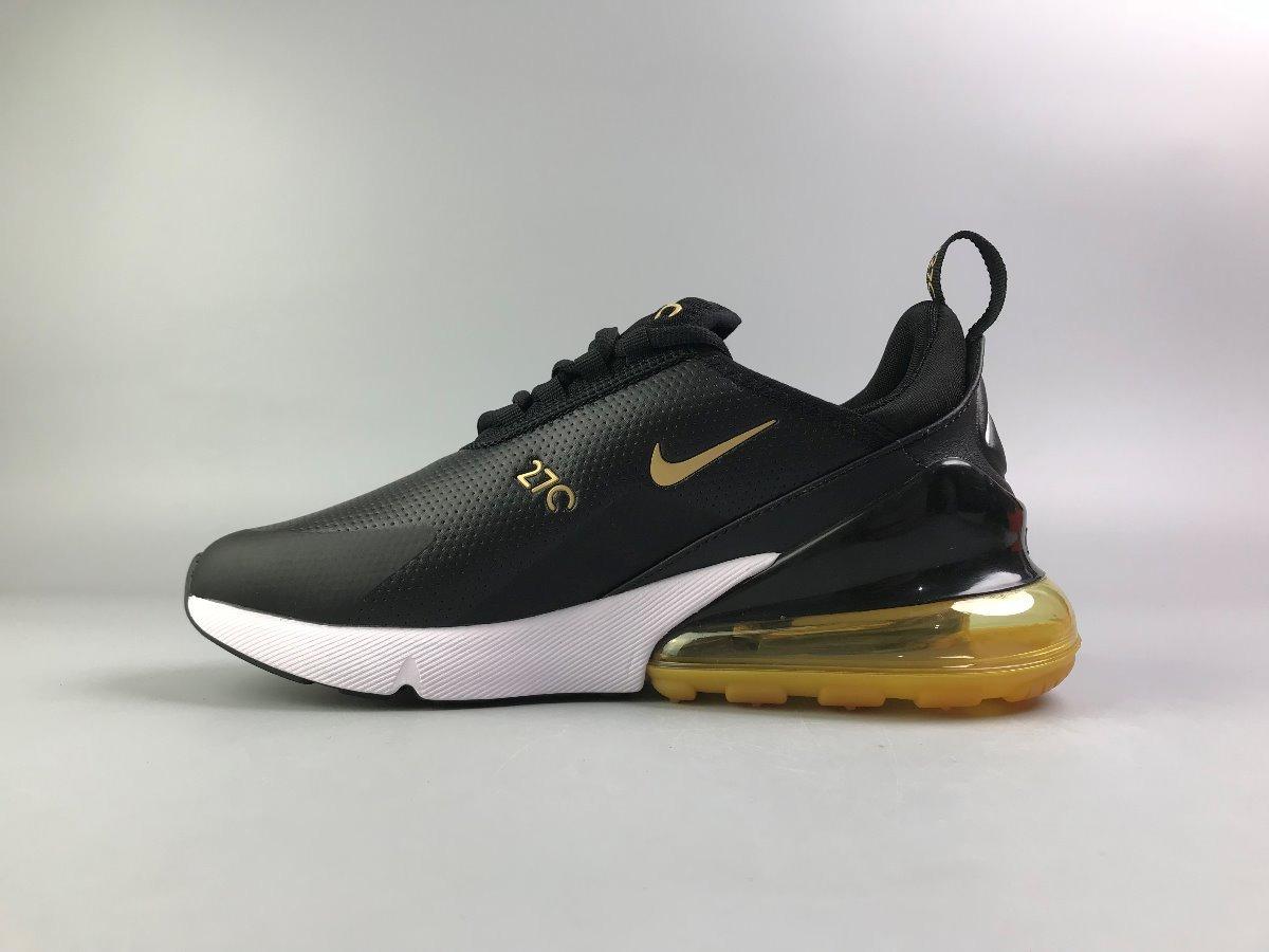 d8ee9bec29576 zapatillas nike air max 270 negro y amarillo 36-45. Cargando zoom.