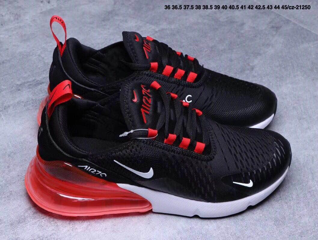 Zapatillas Nike Air Max 270 Negro Y Rojo T: 36 44 Unisex