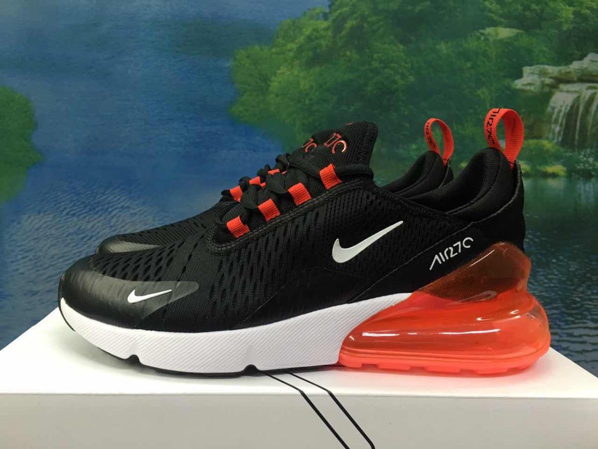 b244563f4c8dc zapatillas nike air max 270 negro y rojo t  36-44 unisex. Cargando zoom.