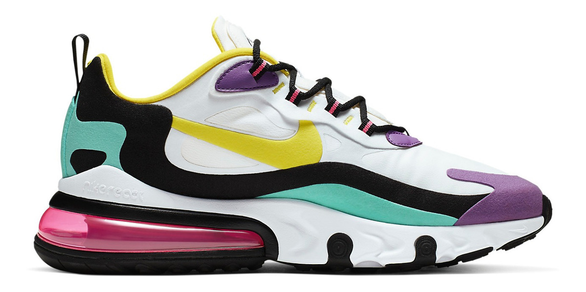 Zapatillas Nike Air Max 270 React (geometric Abstract) Hombr