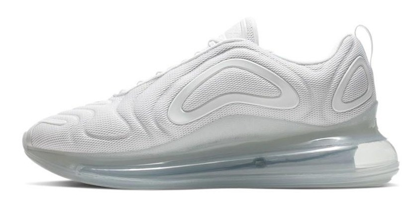 Zapatillas Nike Air Max 720 Pure Platinum Blancas Hombre
