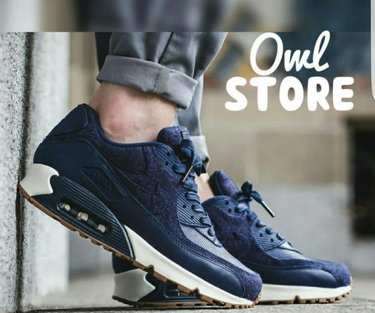 Zapatillas Nike Air Max 90 Azul Gamuza