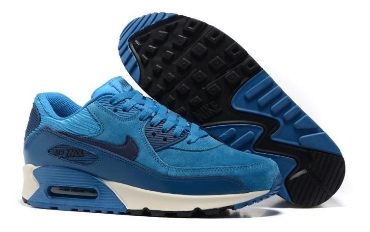 Zapatillas Nike Air Max 90 Azul Tallas 40 A 45