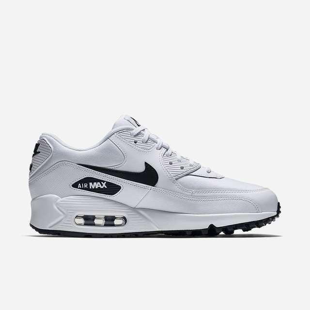3d4c524287418 Zapatillas Nike Air Max 90 Blanco Negro Nuevo 2018 Original - S  400 ...