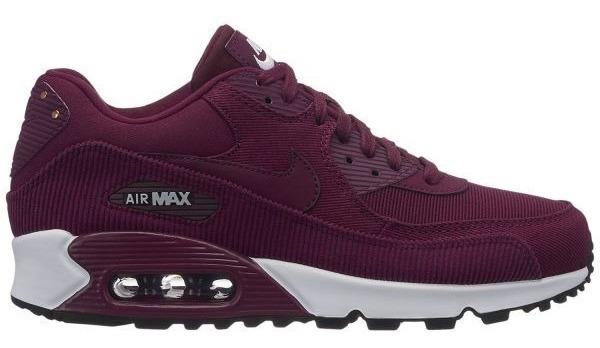 d39338ec Zapatillas Nike Air Max 90 - Bordo - Mujer - $ 7.920,58 en Mercado Libre