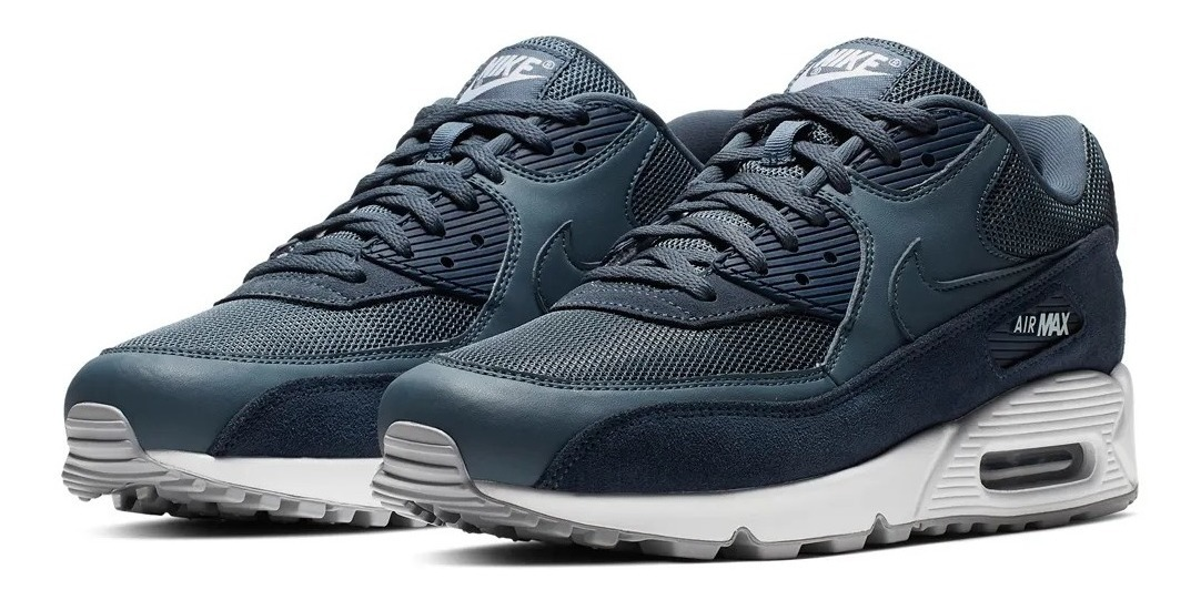 Air Essential 90 2019 Zapatillas Max Blue Nike srCtdhQ